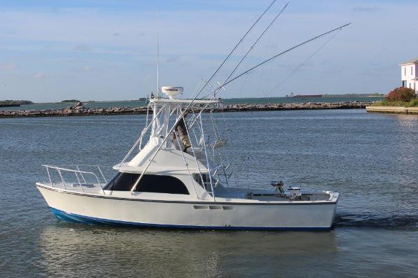 Bertram Flybridge Sport Fish