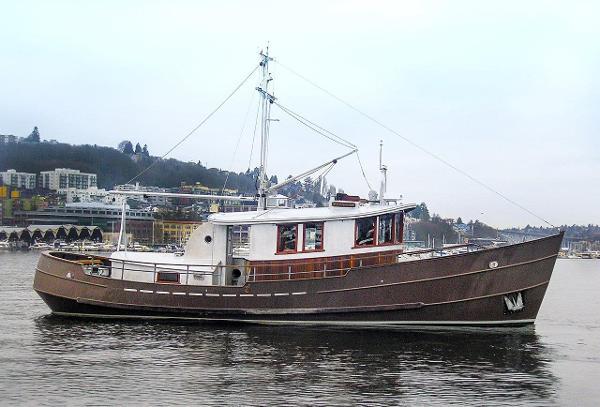 "Jenkins Custom Design Trawler 56' Jenkins Steel Trawler ""PISCES"""