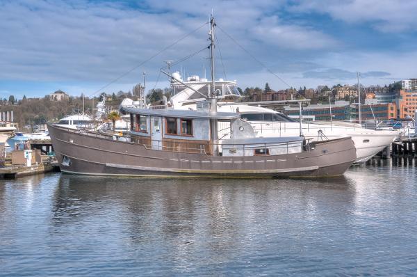 "Custom Jenkins Marine Trawler 56' Jenkins Steel Trawler ""PISCES"""