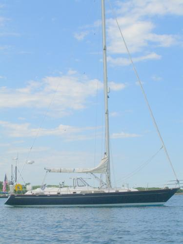 Tayana 52 At Anchor