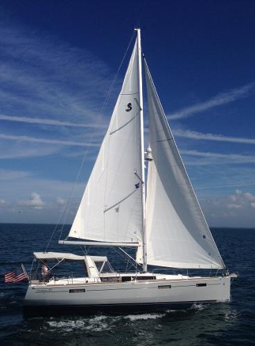 Beneteau 41 Under the Gypsy Skye