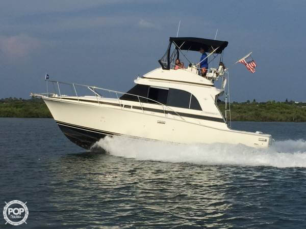 Bertram 33 Flybridge Cruiser II 1989 Bertram 33 for sale in Daytona Beach, FL