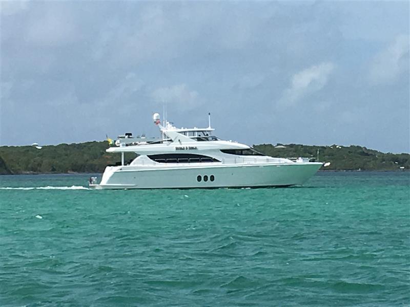 Hatteras Motoryacht Bahamas   2017