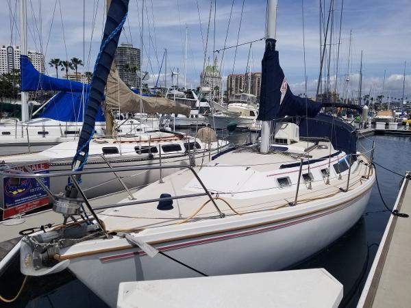 Catalina 34 Port Bow