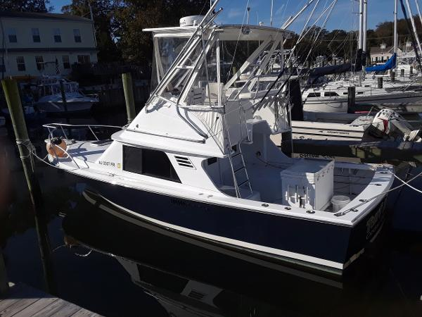 Blackfin Flybridge Port