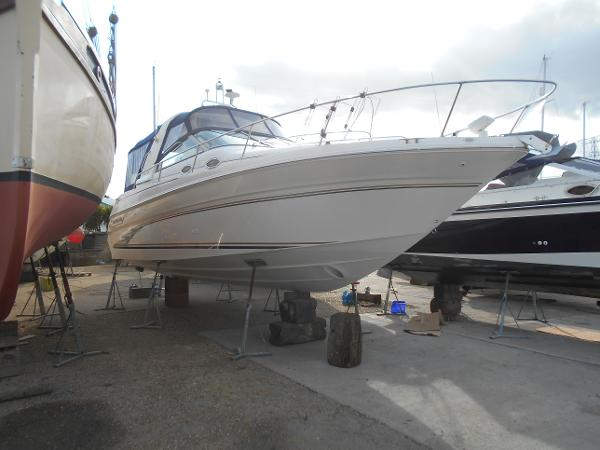 Sea Ray 290 Sundancer Ashore