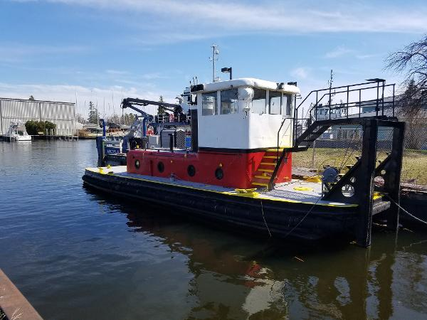 Commercial Twin Screw Push Tug