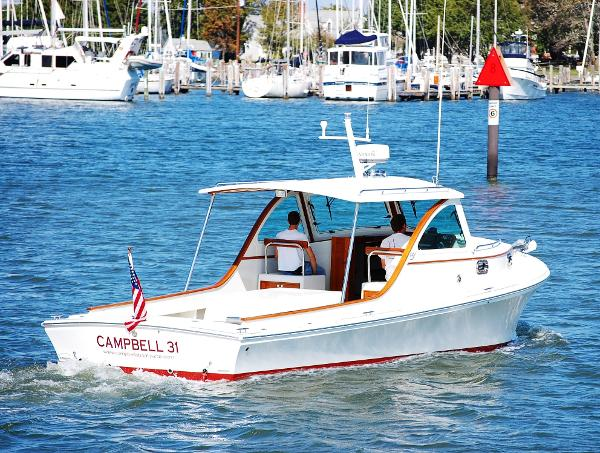 Campbell Custom Yacht 31
