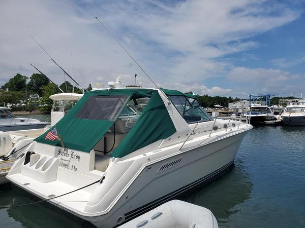 Sea Ray 370 Sundancer Starboard Profile