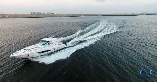 Gulf Craft Oryx 42 ft Profile