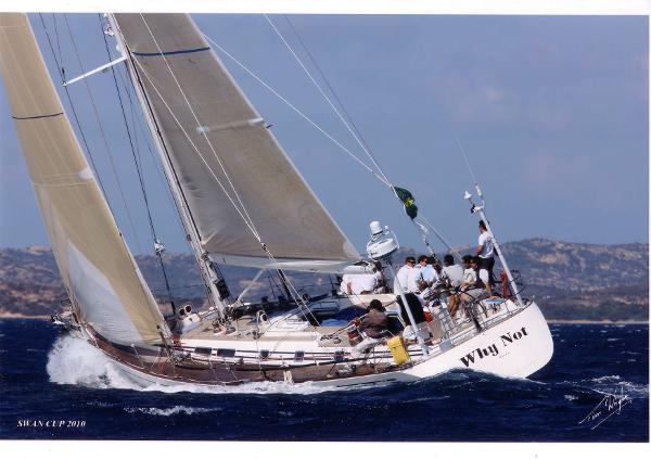 Nautor Swan 56-003 Sailing