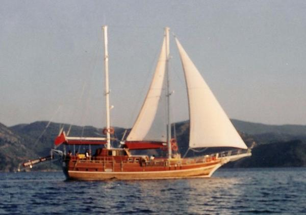 Turkish Gulet Ketch 62' Turkish Gulet Ketch 62 - Underway