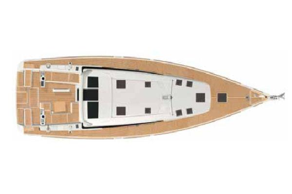 Beneteau. Sense 50 Manufacturer Provided Image