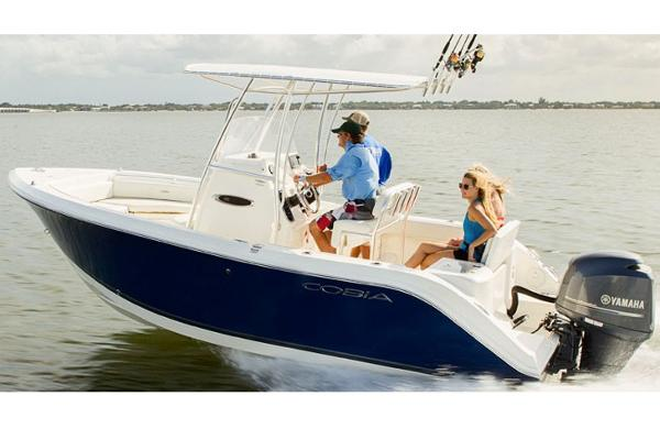 Cobia Boats 201 Center Console Manufacturer Provided Image
