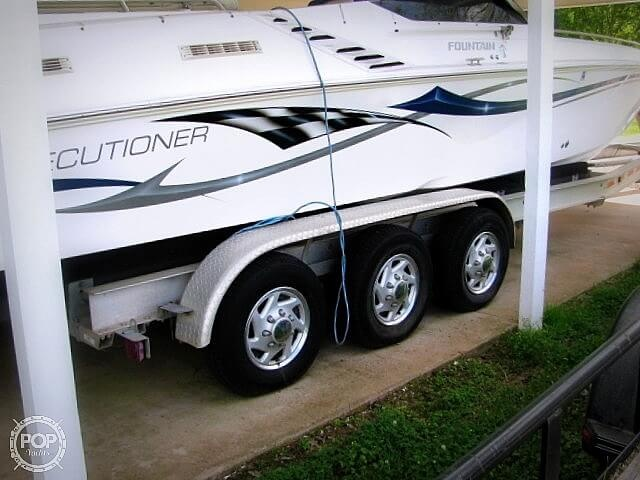 Fountain EXECUTIONER 35 2002 Fountain Executioner 35 for sale in Alexandria, LA