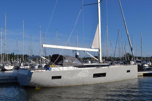 Bavaria C57 Starboard side