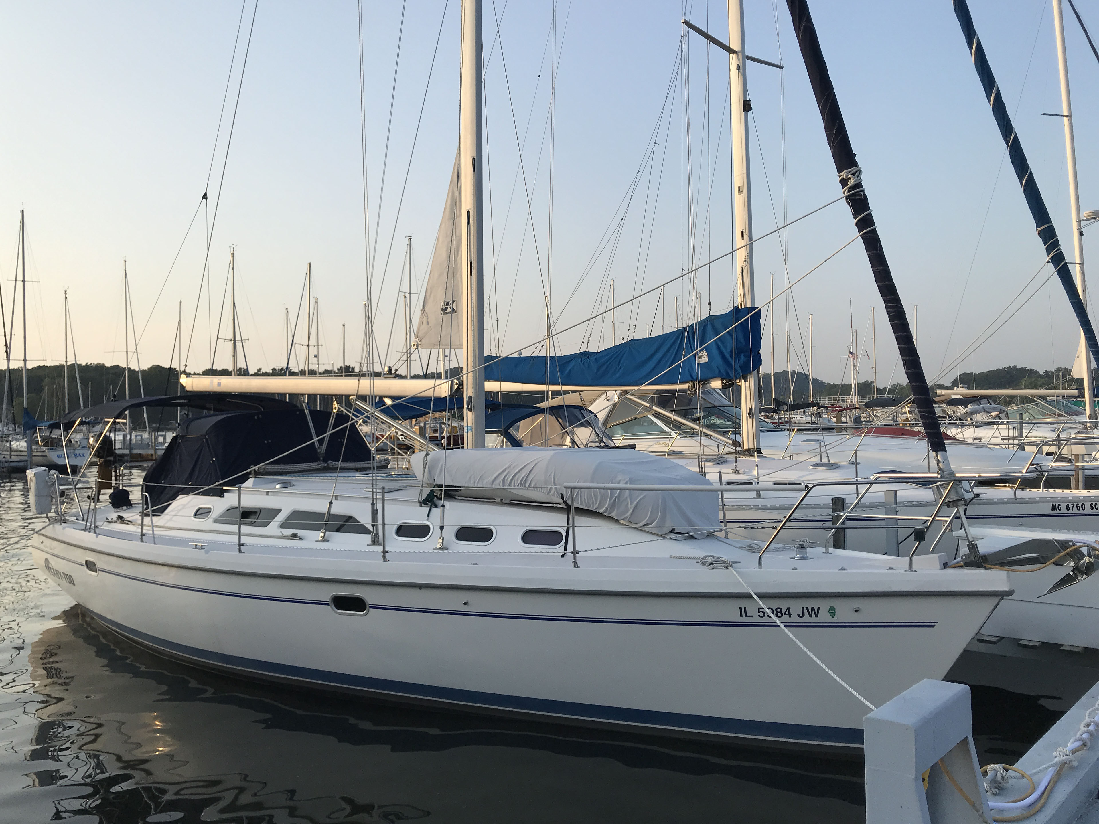 Catalina 380 At Dock 1