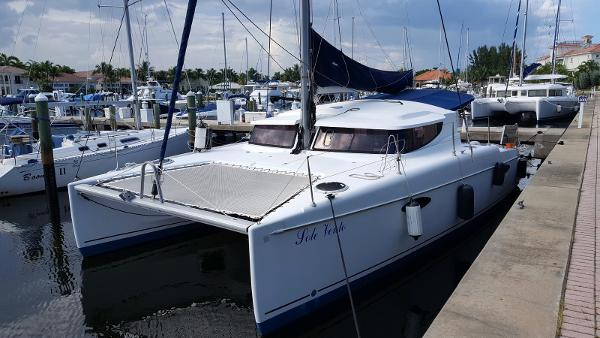 Fountaine Pajot Mahe Docked Again