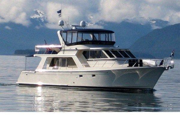 Offshore Pilothouse Cruising
