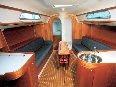 X - Yachts IMX-40 Manufacturer Provided Image: Saloon