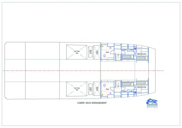Lower Deck Arrangement