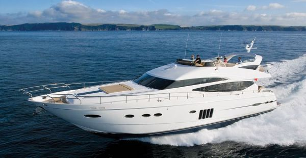 Princess 78 Motor Yacht Manufacturer Provided Image: Princess 78 Motor Yacht