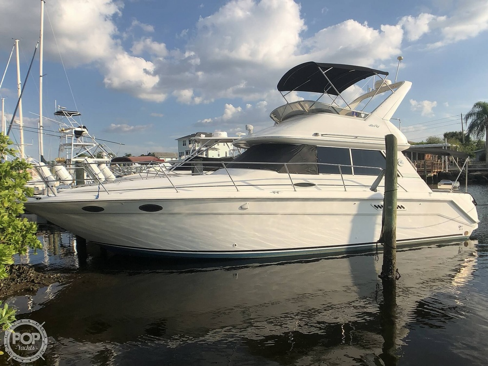 Sea Ray 370 Sedan Bridge 1996 Sea Ray 370 Sedan Bridge for sale in New Port Richey, FL