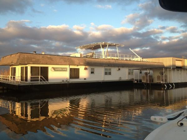 Custom Houseboat