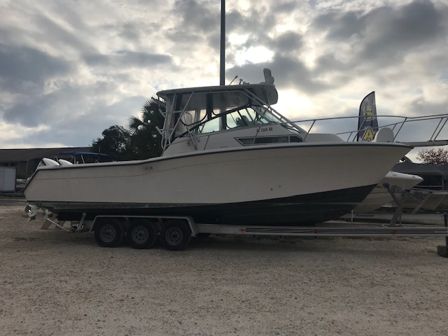 Grady-White 280 Marlin with 2017 Suzuki 250 Motors