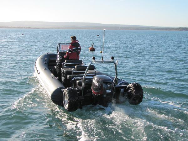 Sealegs 7.1M Sealegs 7.1 Amphibious Rib