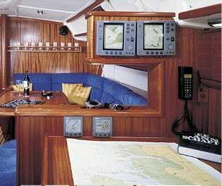 Manufacturer Provided Image: Bavaria 44 Nav Station