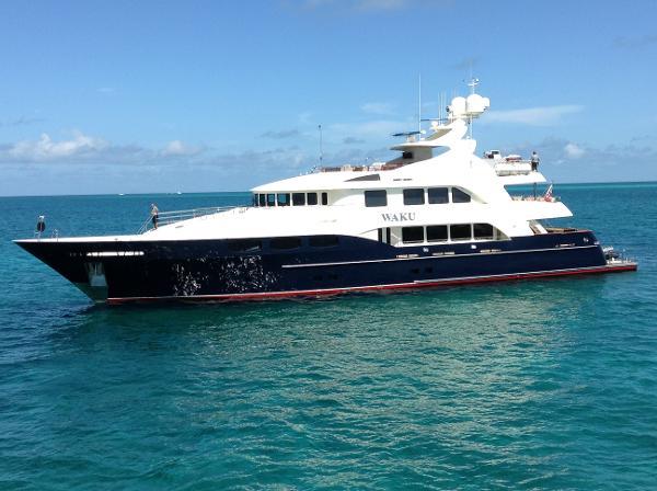 """TRINITY Tri Deck Motor Yacht 141' Trinity """"WAKU"""""""