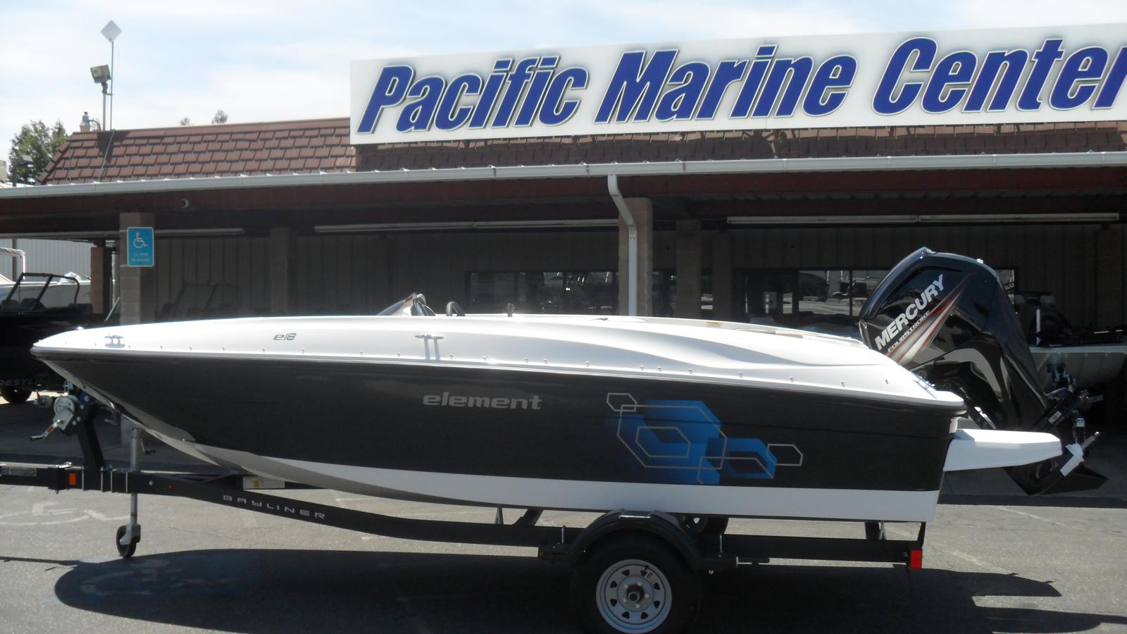 Bayliner Element E18 with a 115hp Mercury 4-