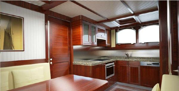 Conrad Barge 70 galley