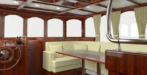 Conrad Barge 70 wheelhouse