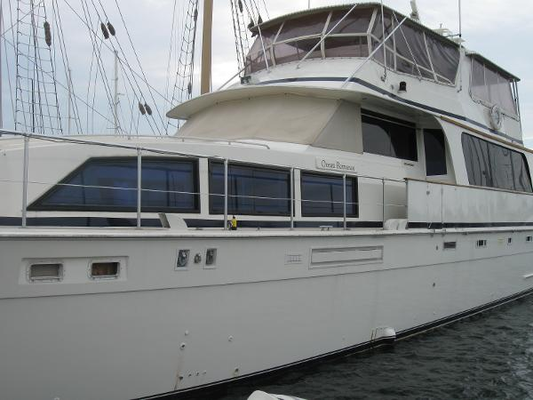 Bertram Cockpit Motor Yacht