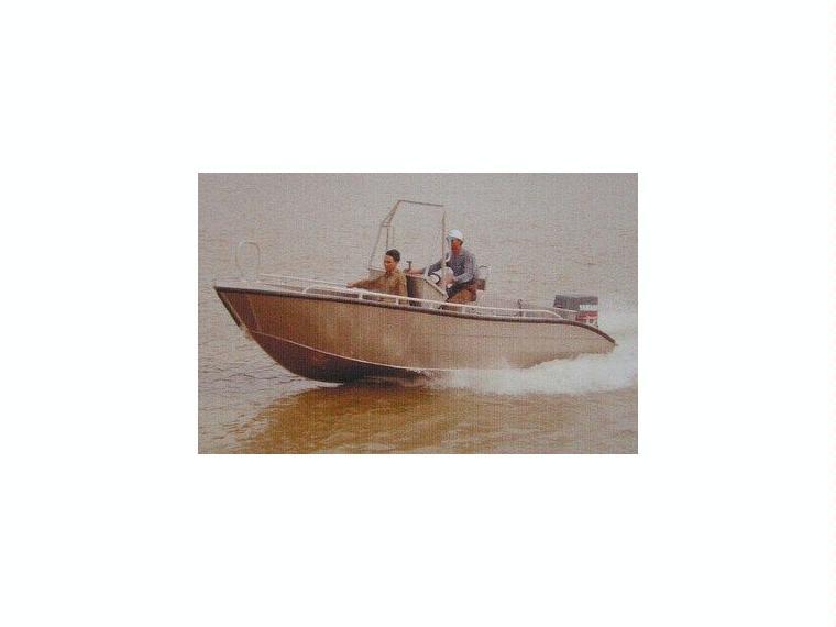 Alu-Konsolenboot Karelli 19
