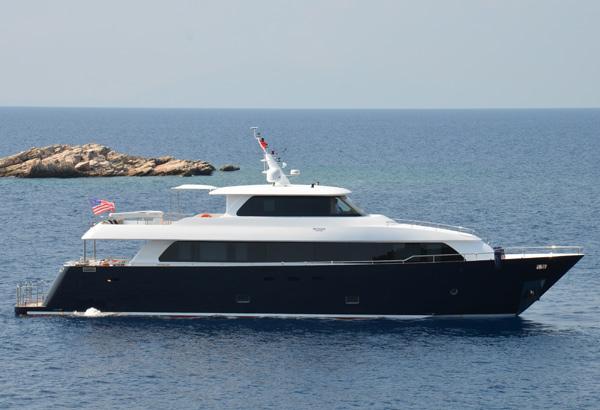 28 m Steel Aegean Yacht Motoryacht sailing