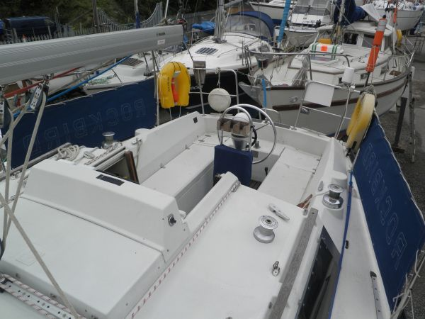 Cockpit looking aft