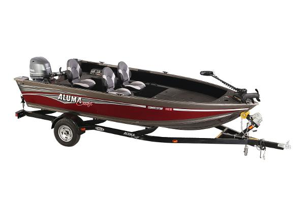 Alumacraft Competitor 165 Tiller Manufacturer Provided Image