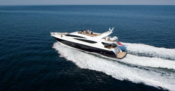 Princess 85 Motor Yacht Manufacturer Provided Image