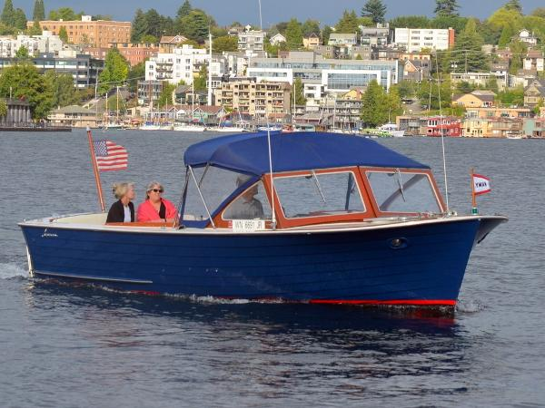 Lyman 25 Sleeper Stb Bow