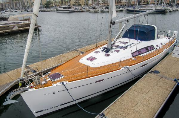 Beneteau Oceanis 50 At the dock.