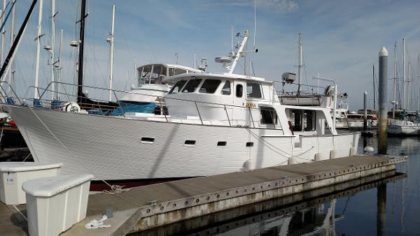 William Garden design 51' Trawler Port Profile