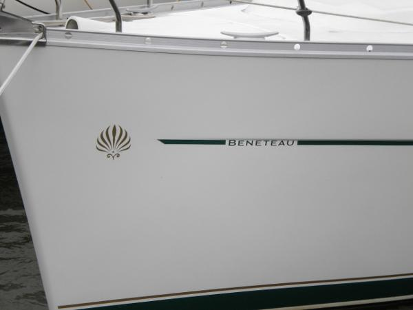 Pretty Beneteau bow