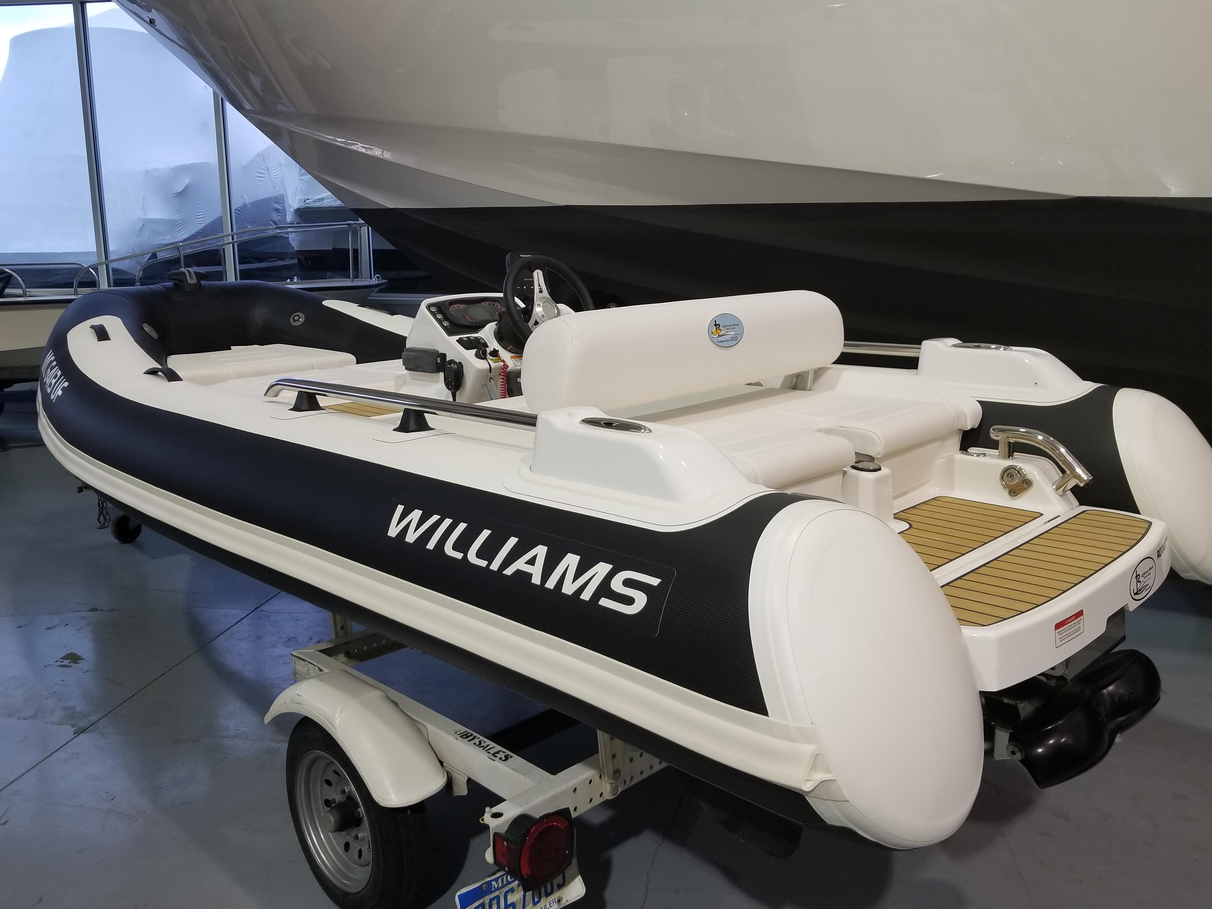 Williams Jet Tenders 395 SportJet Williams Jet Tenders 2018 395 SportJet