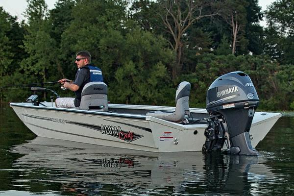 Alumacraft Crappie Deluxe Manufacturer Provided Image