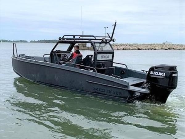 XO Boats 250 DFNDR Black