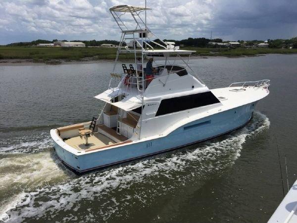 Hatteras 53 Convertible 1978 Hatteras 53 Sportfish Edwards Yacht Sales