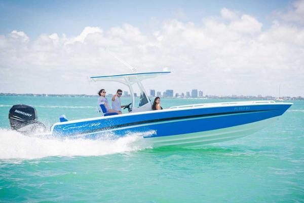 Concept 30' Cuddy Cabin